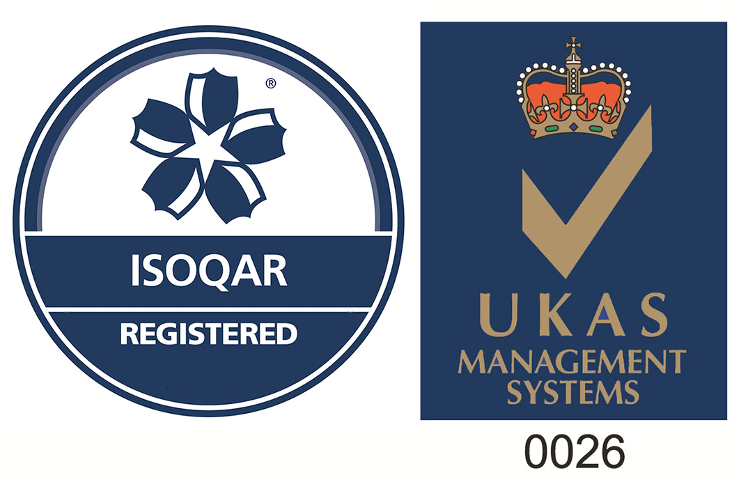 ISOQAR Logo and UKAS