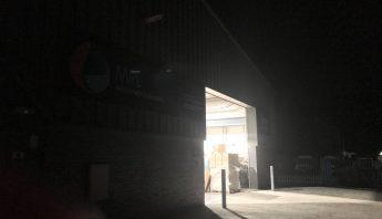 MPL Night Shift open factory door